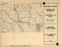 Liberty, Kickapoo T12N-R3W, Vernon County 1955